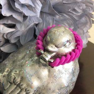 Rustic Cuff Hot Pink Madison Bracelet